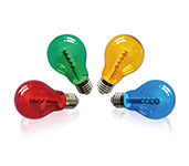 A60 Coloured LED Standard Bulbs