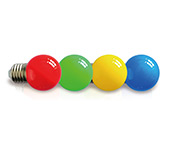 G45 Solid Color Golf Ball Bulb