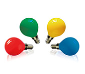 G45 Solid Color LED Candle Bulb